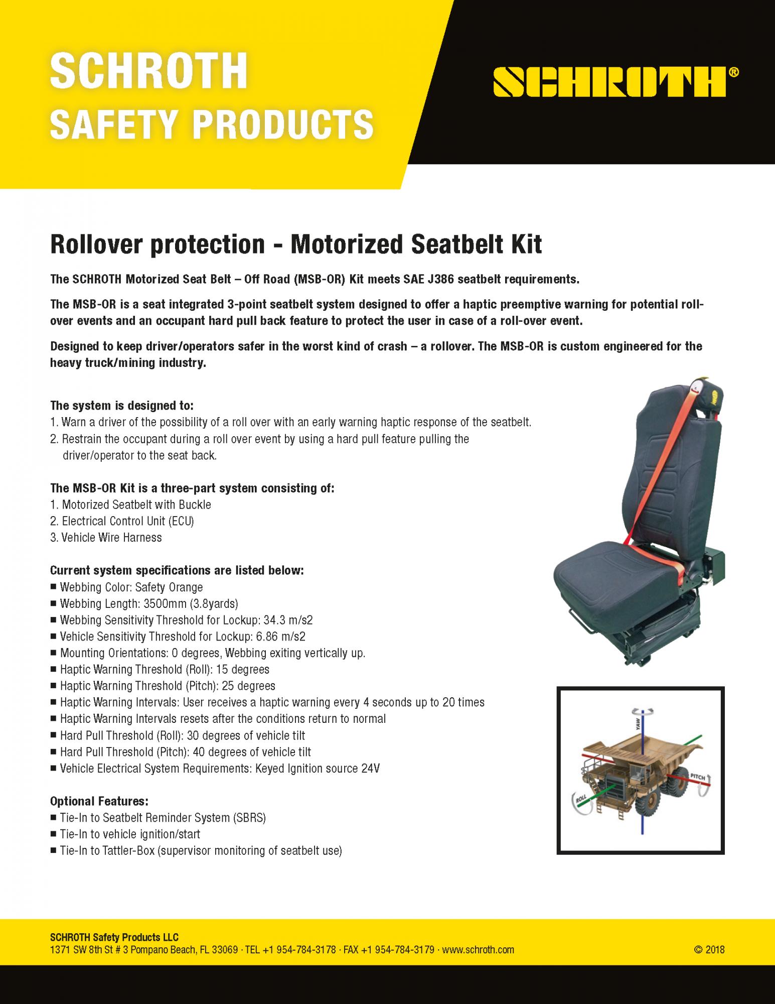 Motorized Seat Belt (MSB) - schroth com   SCHROTH Safety Products